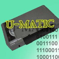 Numérisation de cassettes vidéo Umatic