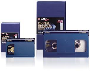 Numérisation de cassettes BETACAM DIGITAL petit et grand format