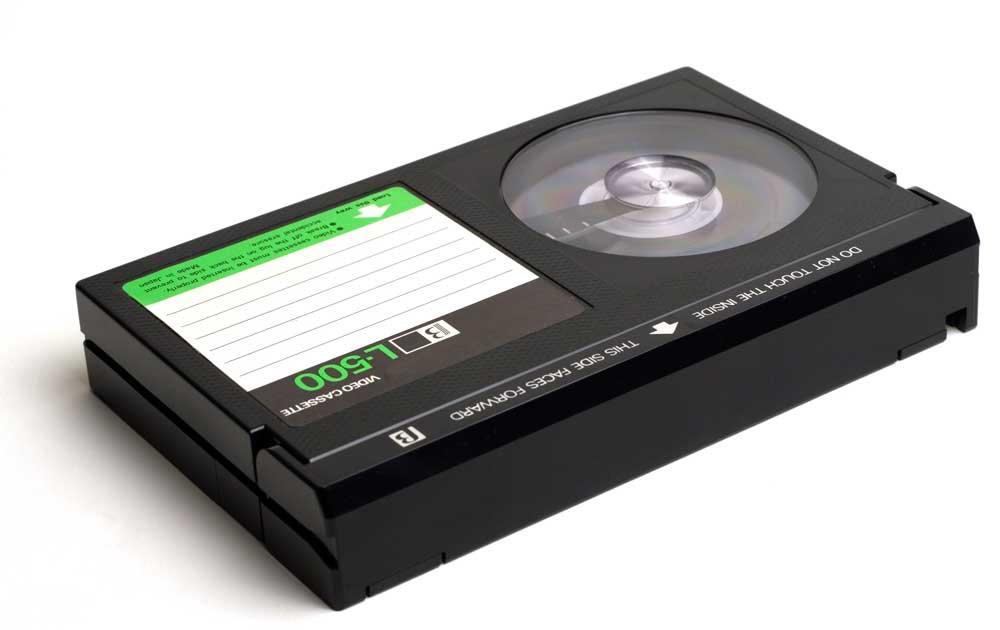 Numérisation  de cassettes Betamax