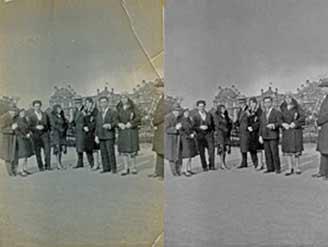 JL Transferts Numériques effectue des retouches sur vos photos passées