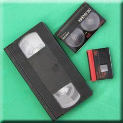 Numérisation de cassettes vidéo vhs, miniDV, hi8, betacam, Umatic