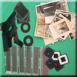 Numérisation de négatifs, photos et documents