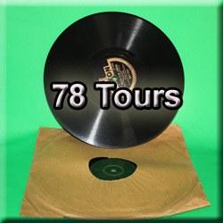 Numérisation disque Vinyle 78 Tours