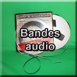 Numérisation bandes audio magnétiques