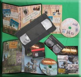 DVD vidéo personnalisé de cassettes