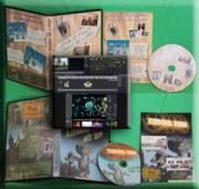 DVD vidéo personnalisé du montage vidéo
