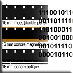 Numérisation de bobines 16mm (à la minute)