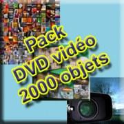 Pack DVD Vidéo 2000 objets