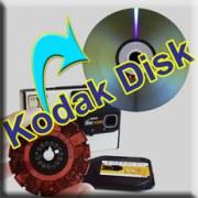 Numérisation de disques Kodak entiers