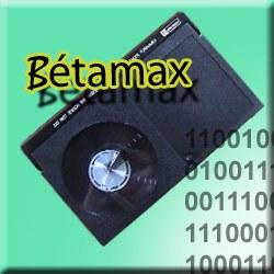 Numérisation de Bétamax