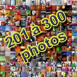 Montage de 201 à 300 photos