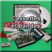 Numérisation de cassettes et bandes audio