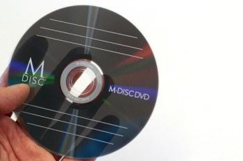 Gravure sur M-DISC de vos fichiers de films en bobines