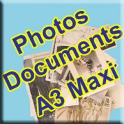 Numérisation de photos - documents papier (A3 MAXI)