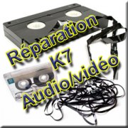 Réparation de Cassettes Audio/Vidéo