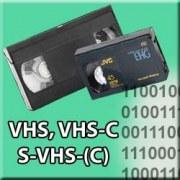 Numérisation de VHS / VHS-C / Super VHS / Super VHS-C