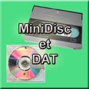 Numérisation de Minidisc et DAT