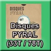 Numérisation de disques PYRAL 33T 78T